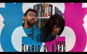 Diario di Bord...Games! 23 - 29 ottobre 8 giochi da tavolo giocati - Vlog #82