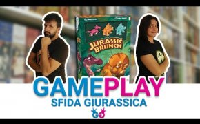 Jurassic Brunch Doppia partita completa al nuovo gioco dei dinosauri, anche assieme a Jurassic Snack