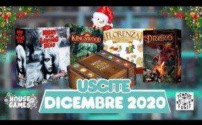 I Giochi da Tavolo in USCITA a DICEMBRE 2020 | Pronti a NATALE?