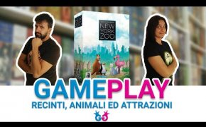 New York Zoo Partita Completa al Gioco da Tavolo che trasforma lo zoo in un tetris!