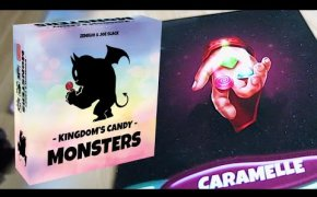 KINGDOM'S CANDY MONSTERS: Fare punti con le CARAMELLE