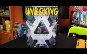 Anachrony Infinity box upgrade pack - Unboxing