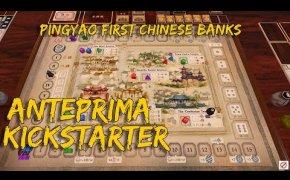 PingYao First Chinese Banks - Anteprima Kickstarter