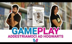 Harry Potter Hogwarts Battle: Difesa contro le arti oscure Partita Completa al gioco da tavolo