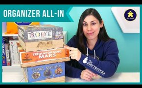 ORGANIZER ALL-IN per Terra Mystica, Terraforming Mars, Root | Promozione The Dicetroyers