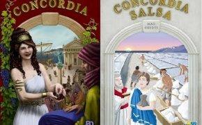 Concordia + Concordia Salsa - Componenti e setup