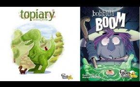 Topiary & Bobbidi boom: speciale Fever Games - Componenti e setup