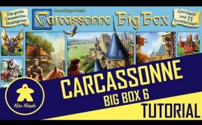La ludoteca #42 - Carcassonne Big Box 6 (2017) Tutorial