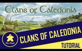 La ludoteca #43 - Clans of Caledonia Tutorial