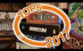 I 5 migliori giochi provati nel 2017!