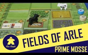 Fields of Arle Tutorial - Gioco da Tavolo - Prime Mosse