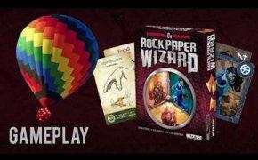 Rock, paper wizard! Gameplay