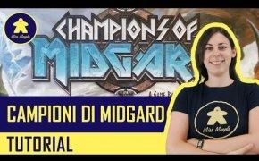 Campioni di Midgard Tutorial - Gioco da Tavolo - La ludoteca #55