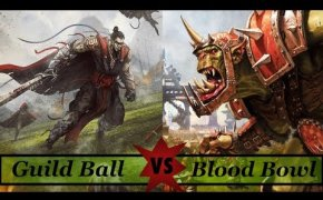 Blood Bowl Vs Guild Ball!  - Versus #1