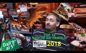 Top 12 Giochi da tavolo WEEGL 2018 ! [Dal 8° al 5°]