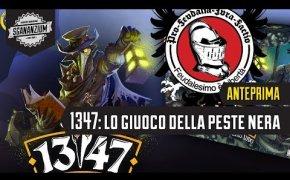 1347: Lo giuoco della peste nera (Feudalesimo e Libertà) - Gioco da Tavolo