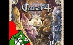 Consiglio dei 4 - Componenti, setup e flusso di gioco