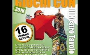 Giochi Con di Genova 2018 - Report dell'evento