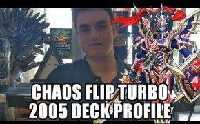 YUGIOH | GOAT FORMAT | CHAOS FLIP TURBO DECK PROFILE 2005