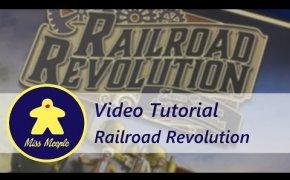 La ludoteca #23 - Railroad Revolution Tutorial