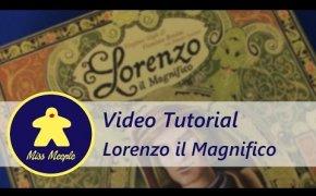 La ludoteca #22 - Lorenzo il Magnifico Tutorial