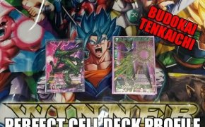 DRAGONBALL SUPER | CELL DECK PROFILE 2ND AT BUDOKAI TENKAICHI