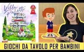 Villa Paletti - Gioco da Tavolo per Bambini - 8+ anni
