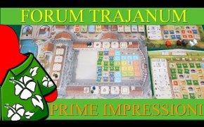 Forum Trajanum - Prime impressioni