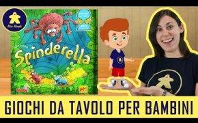 Spinderella - Gioco da Tavolo per Bambini - 6+ anni