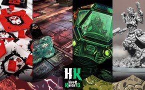 Hype Knights : Altar Quest – Spire's End – Burncycle – ISS Vanguard