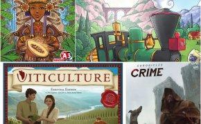 [Ieri Sera sui Nostri Tavoli] Cacao, Chronicles of Crime: 1400 e altri 2!