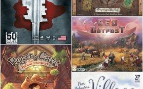 [Ieri Sera sui Nostri Tavoli] Harry Potter: Hogwarts Battle, Village Green, Red Outpost e altri 2!