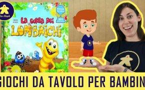 La corsa dei lombrichi – Gioco da Tavolo per Bambini – 4+ anni