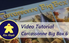 La ludoteca #42 – Carcassonne Big Box 6 (2017) Tutorial