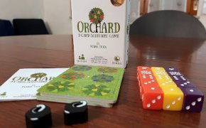 [Solo sul mio tavolo] Orchard: A 9 card solitaire game