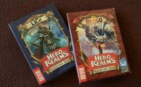 [Espansioni] Hero Realms – Mazzo del boss: Drago / Lich