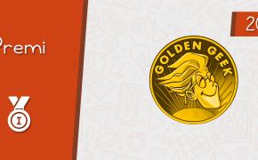 Golden Geek Award (2019) – Vincitori e Runner Up di tutte le categorie