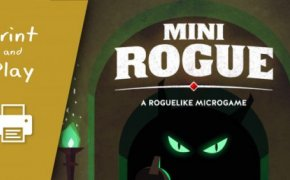 Mini Rouge – A Roguelike Micrograme