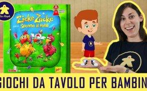 Spenna il Pollo – Gioco da Tavolo per Bambini – 4+ anni