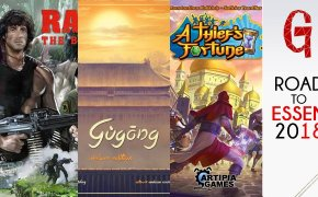 Road to Essen #02 : Gùgōng – A Thief's Fortune – Rambo