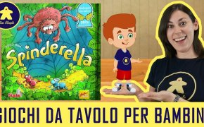 Spinderella – Gioco da Tavolo per Bambini – 6+ anni
