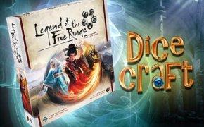 17#Dicecraft: La Leggenda dei 5 Anelli LCG