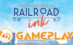 Recensioni Minute - Gameplay Railroad ink (Base + Espansione)