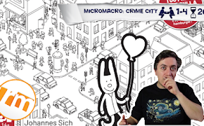Recensioni Minute - MicroMacro: Crime city
