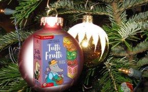 Calendario dell'Avvento, pallina numero 11: Tutti Frutti Clementoni