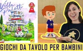 Villa Paletti – Gioco da Tavolo per Bambini