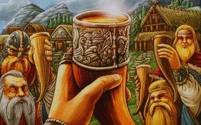 Copertina per La Festa per Odino, gioco da tavolo di Uwe Ronsenberg