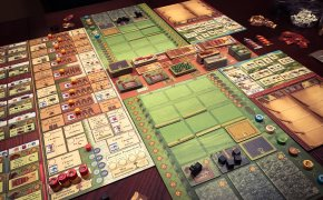 Field of Arle: setup del gioco per due giocatori di Uwe Rosenberg