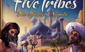 Copertina di Five Tribes, gioco da tavolo della Days of Wonders