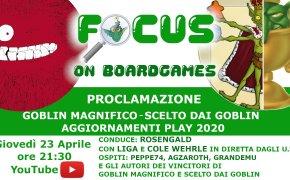 Focus on boardgames Magnifico 2020